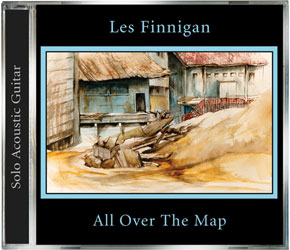 Les Finnigan - All Over The Map - Acoustic Guitar Album - CD, MP3