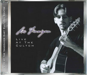 Les Finnigan - Live at The Cultch (The Cultch Historic Theatre) - Acoustic Guitar Album - CD, MP3