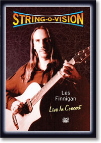 String-O-Vision - Les Finnigan Live in Concert DVD - The Cultch Historic Theatre